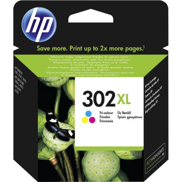 cartuccia colori originale HP 302 XL