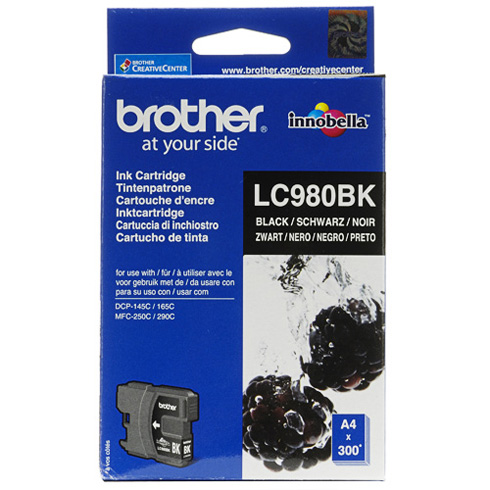 Cartuccia originaleBrother LC980BK