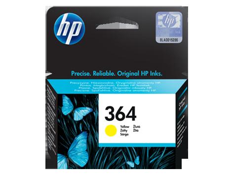 Cartuccia HP 364 originale giallo- CB320EE