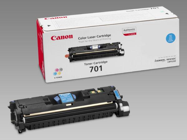 Cartuccia toner Canon 701BK (nero) originale