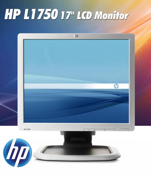MONITOR LCD USATO HP L1750 + SOUND BAR